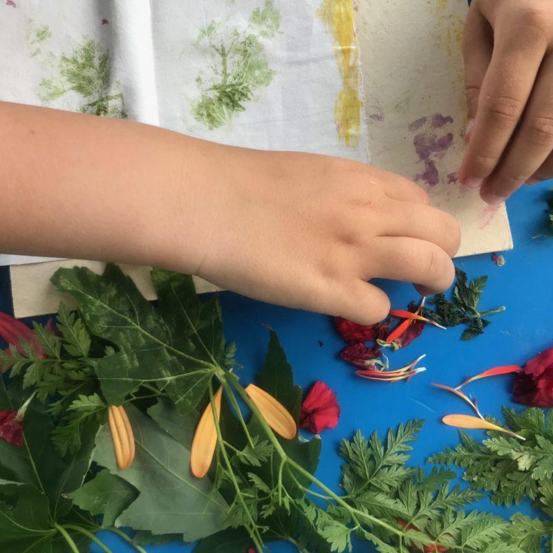 Vroesenpaviljoen bloemtimmeren